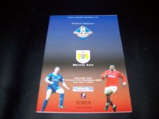 Oldham Athletic v Bristol City, 2002/03